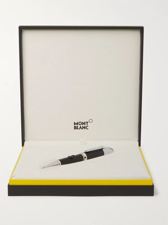 Montblanc + Walt Disney Great Characters Resin and Platinum-Plated Ballpoint Pen