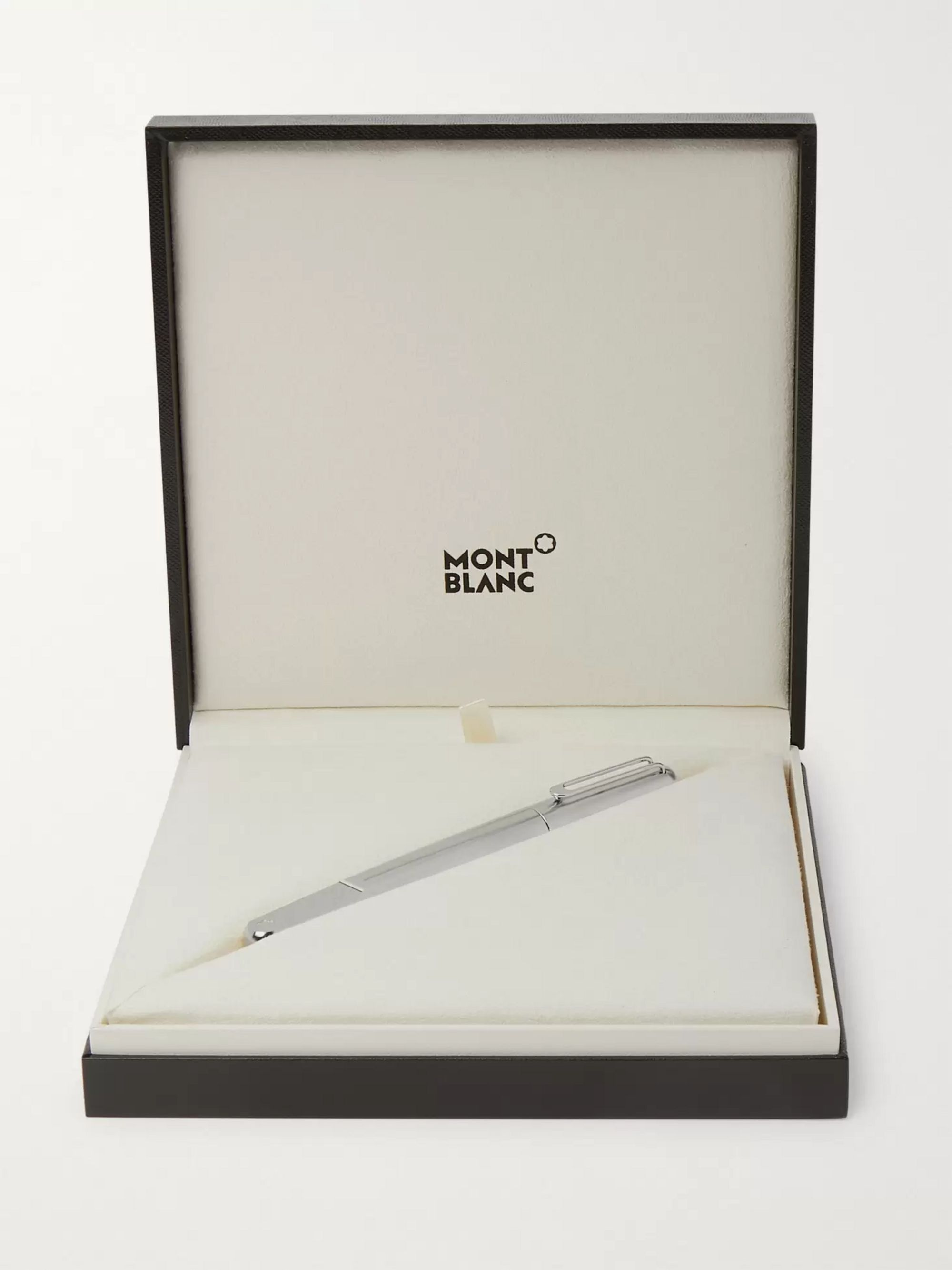 MONTBLANC (Montblanc M) RED Signature Resin-Trimmed Palladium-Plated Fountain Pen
