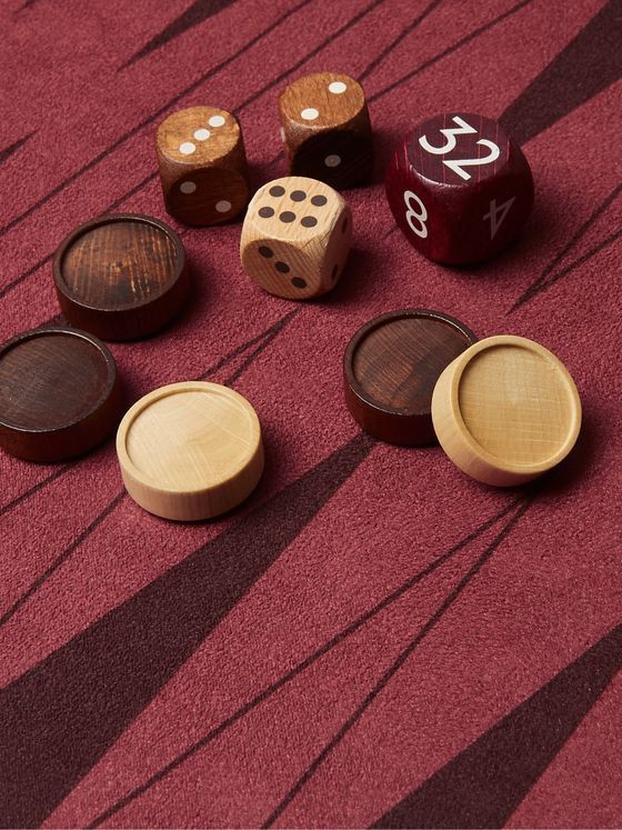 Montblanc + James Purdey & Sons The Gift Of Writing Walnut Games Set