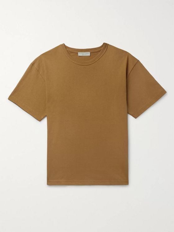 Bottega Veneta Slim-Fit Mélange Cotton-Jersey T-Shirt