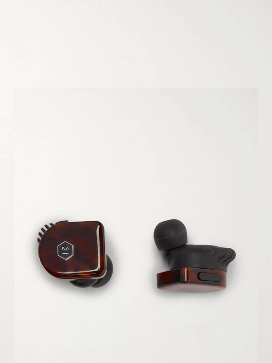 Master & Dynamic MW07 PLUS True Wireless Tortoiseshell Acetate In-Ear Headphones