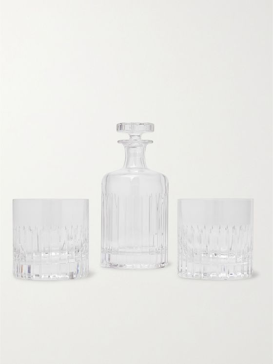Soho Home Roebling Cut Crystal Set