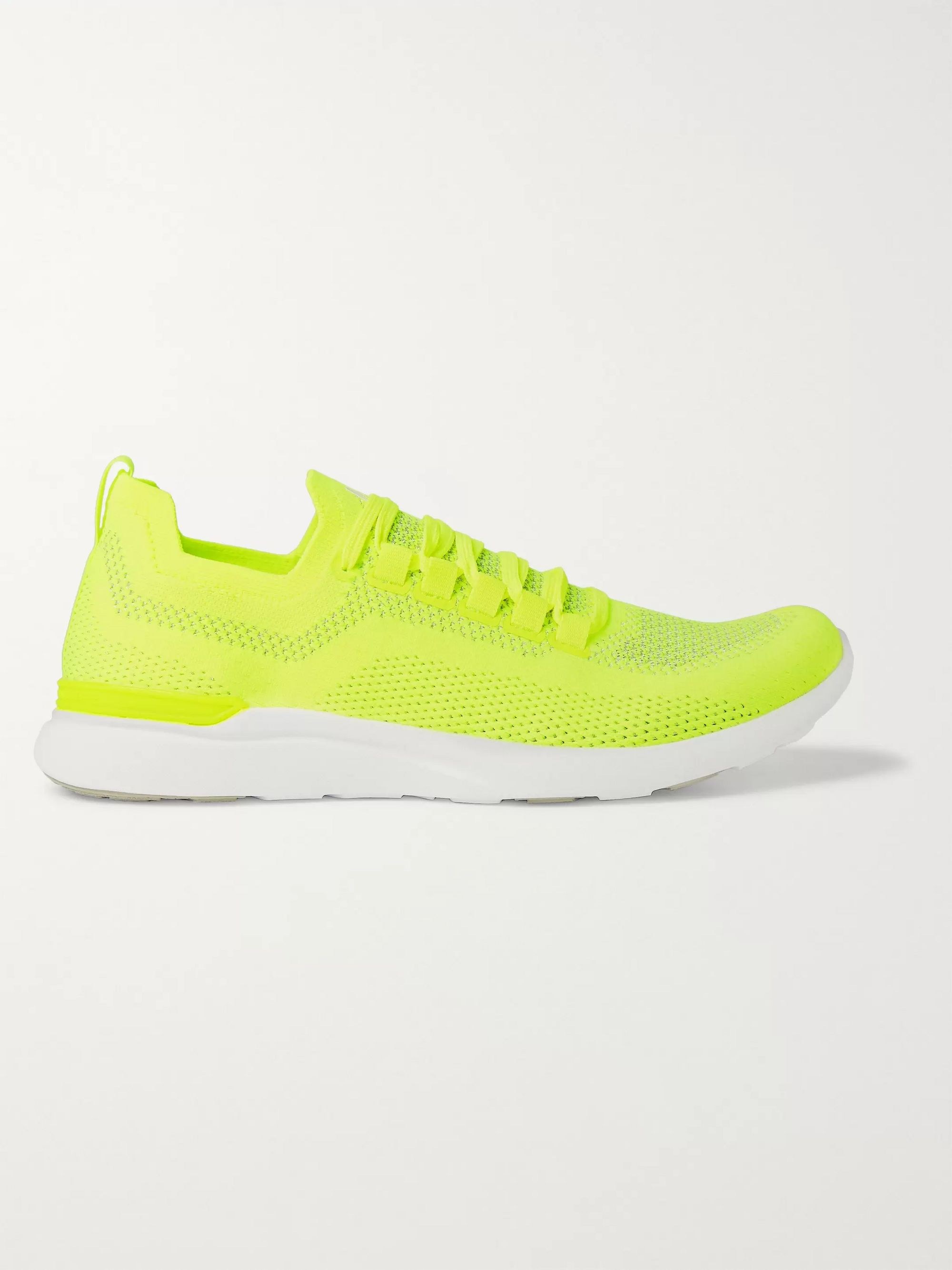 nike running yellow shoes