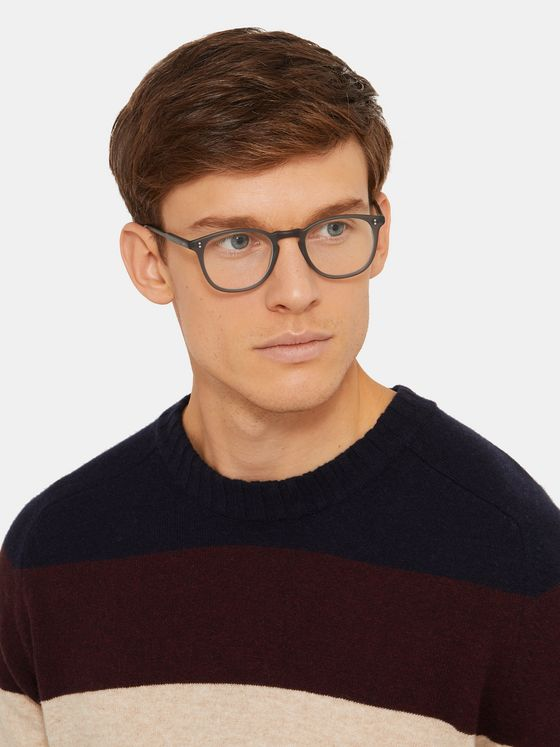 Garrett Leight California Optical Kinney D-Frame Acetate Glasses