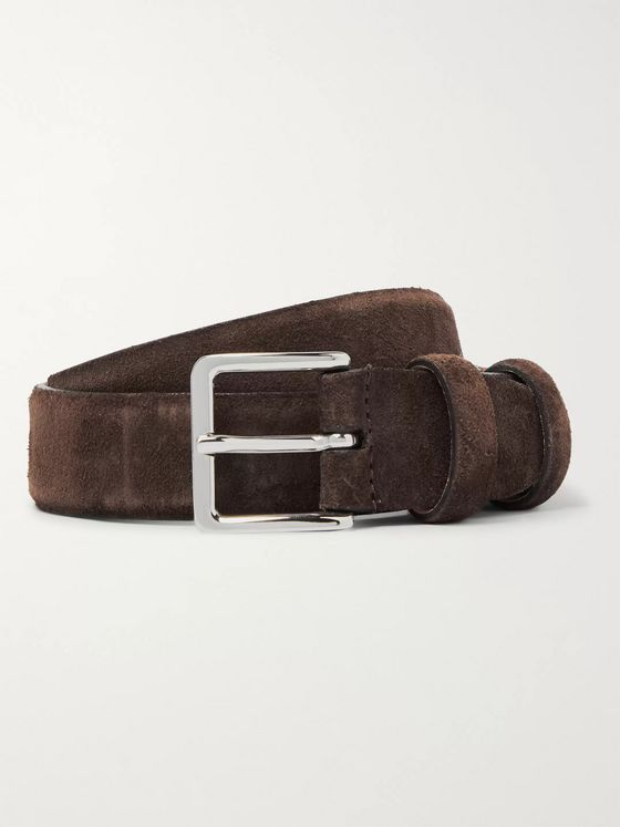 Mr P. 3cm Suede Belt