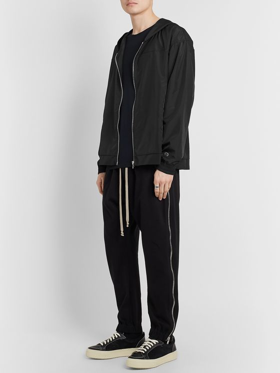 Rick Owens + Champion Shell Zip-Up Hoodie