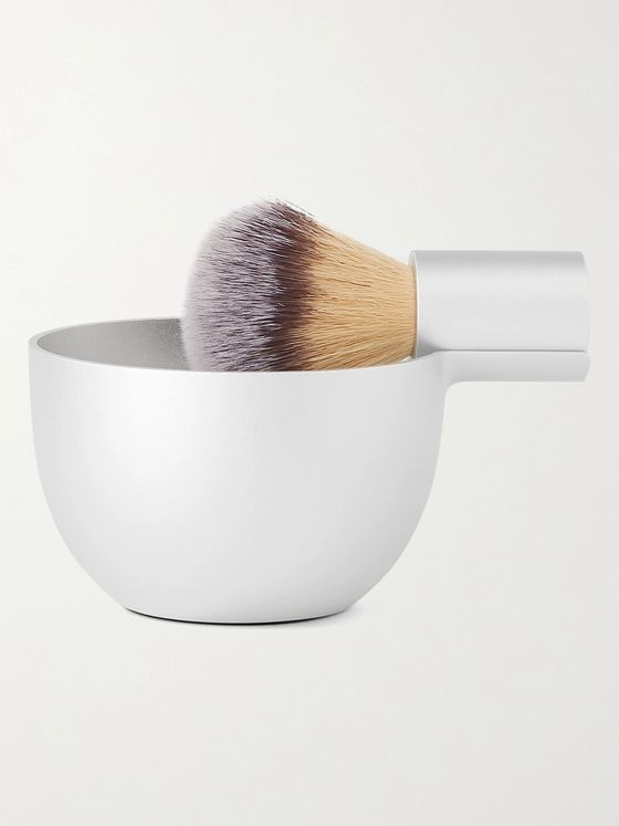 Angle by Morrama Angle Aluminium Brush and Bowl