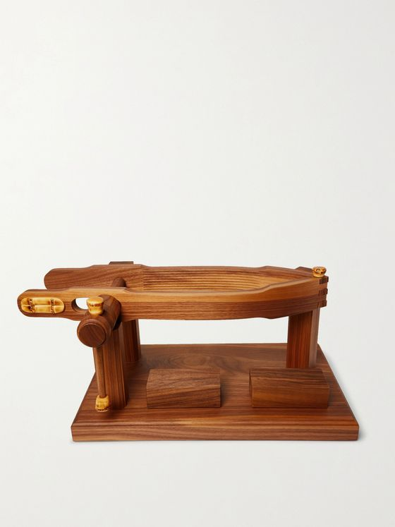 LORENZI MILANO Wood Ham Holder