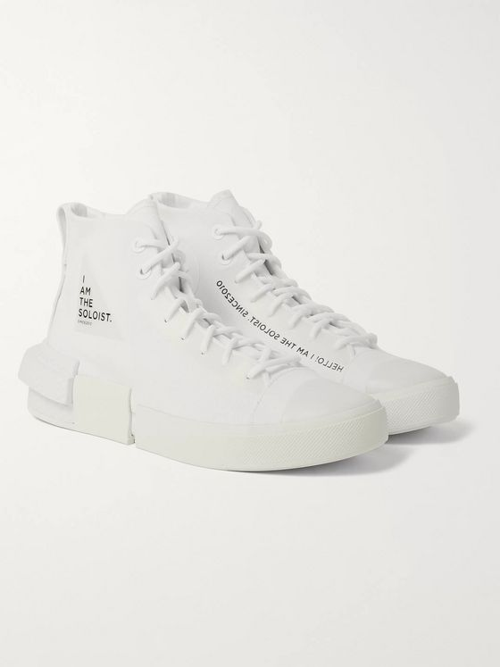 Converse + TheSoloist All Star Disrupt CX Canvas High-Top Sneakers