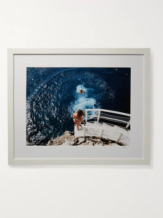 "Sonic Editions Framed 2015 Anacapri Diving Print, 16"" x 20"""