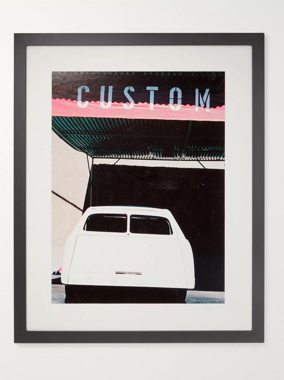 "Sonic Editions Framed 1998 George Barris' Unfinished Project Car Print, 16"" x 20"""