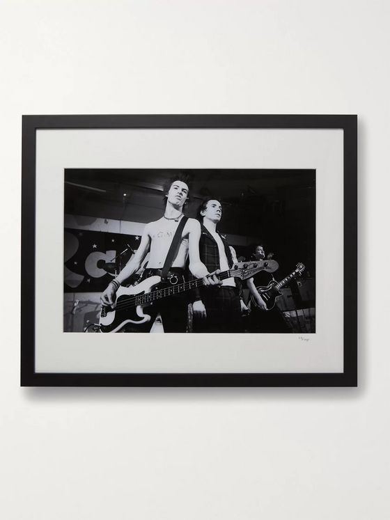 "Sonic Editions Framed 1978 The Sex Pistols Print, 16"" x 20"""