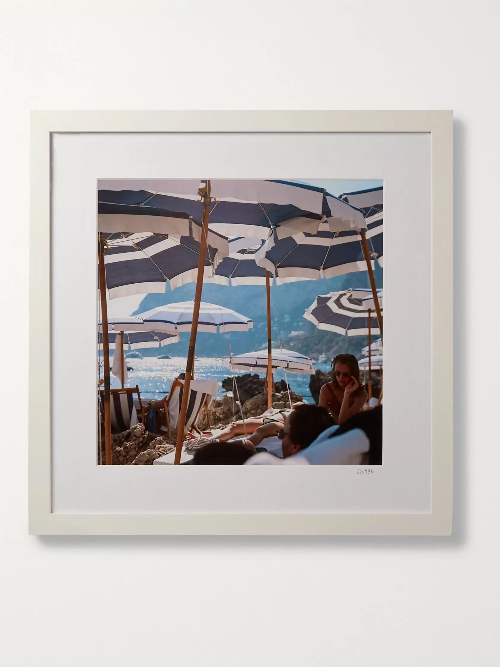 "Sonic Editions Framed 2015 On the Waterfront Print, 16"" x 16"""