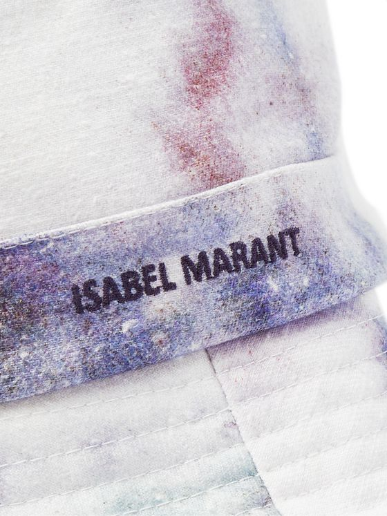 Isabel Marant Haley Tie-Dyed Cotton Bucket Hat