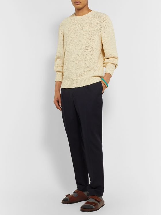 Isabel Marant Fado Cotton-Blend Sweater