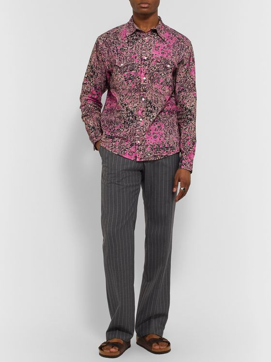 Isabel Marant Pitt Printed Cotton Shirt