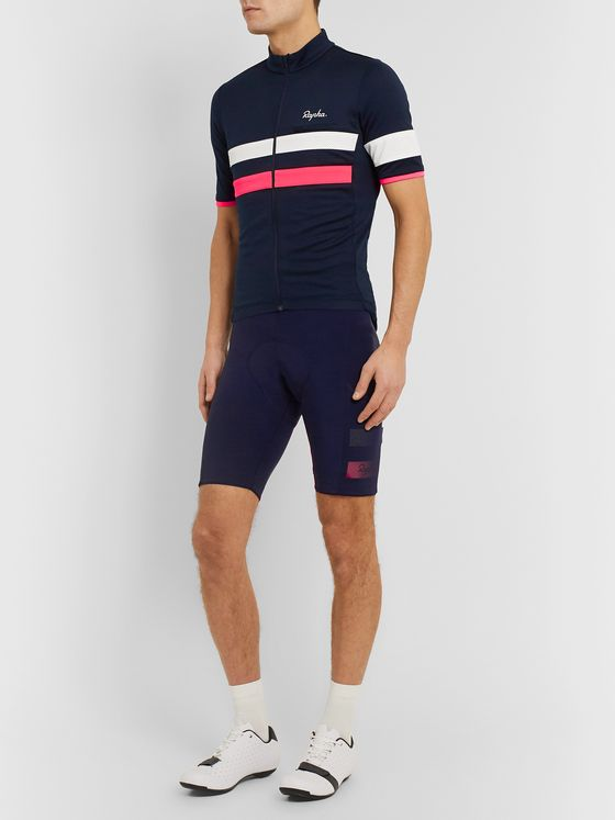Rapha Brevet Panelled Cycling Zip-Up Jersey
