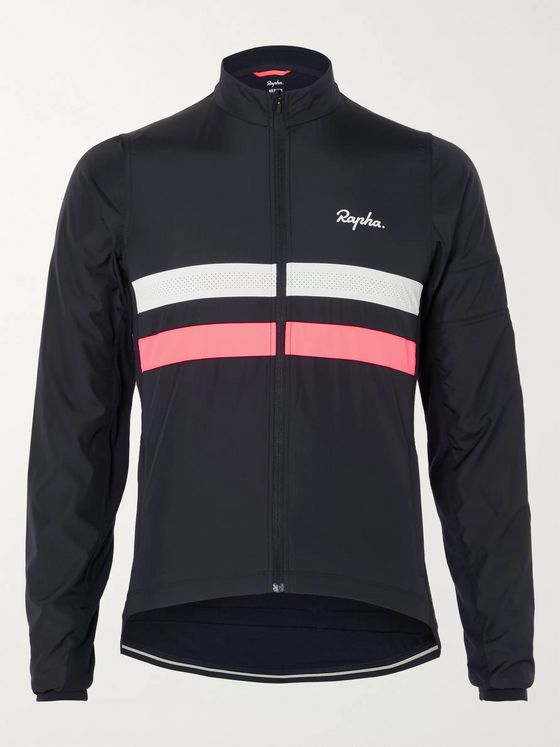 Rapha Brevet Windblock Panelled Cycling Jersey