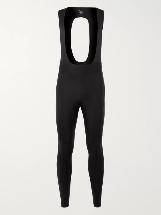 Rapha Core Winter Fleece-Back Stretch-Jersey Cycling Bib Shorts