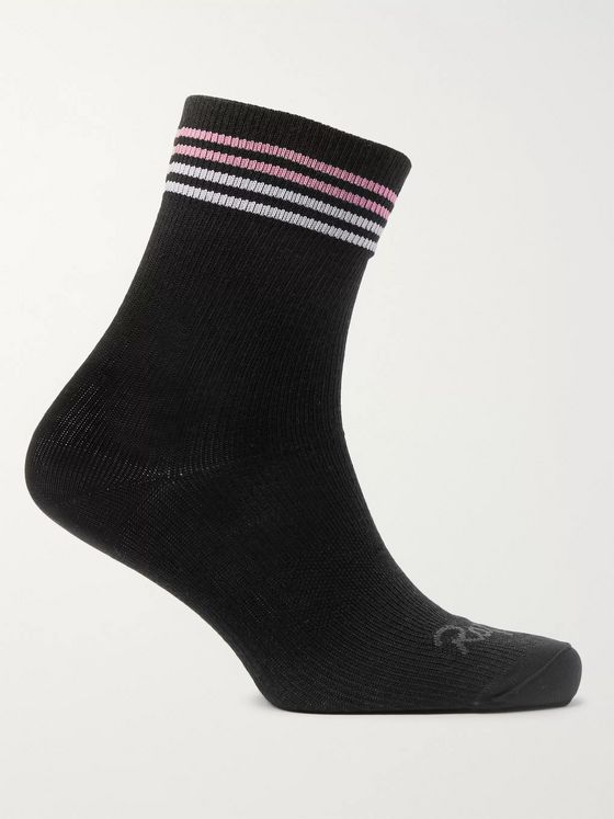 Rapha Striped Knitted Cycling Socks