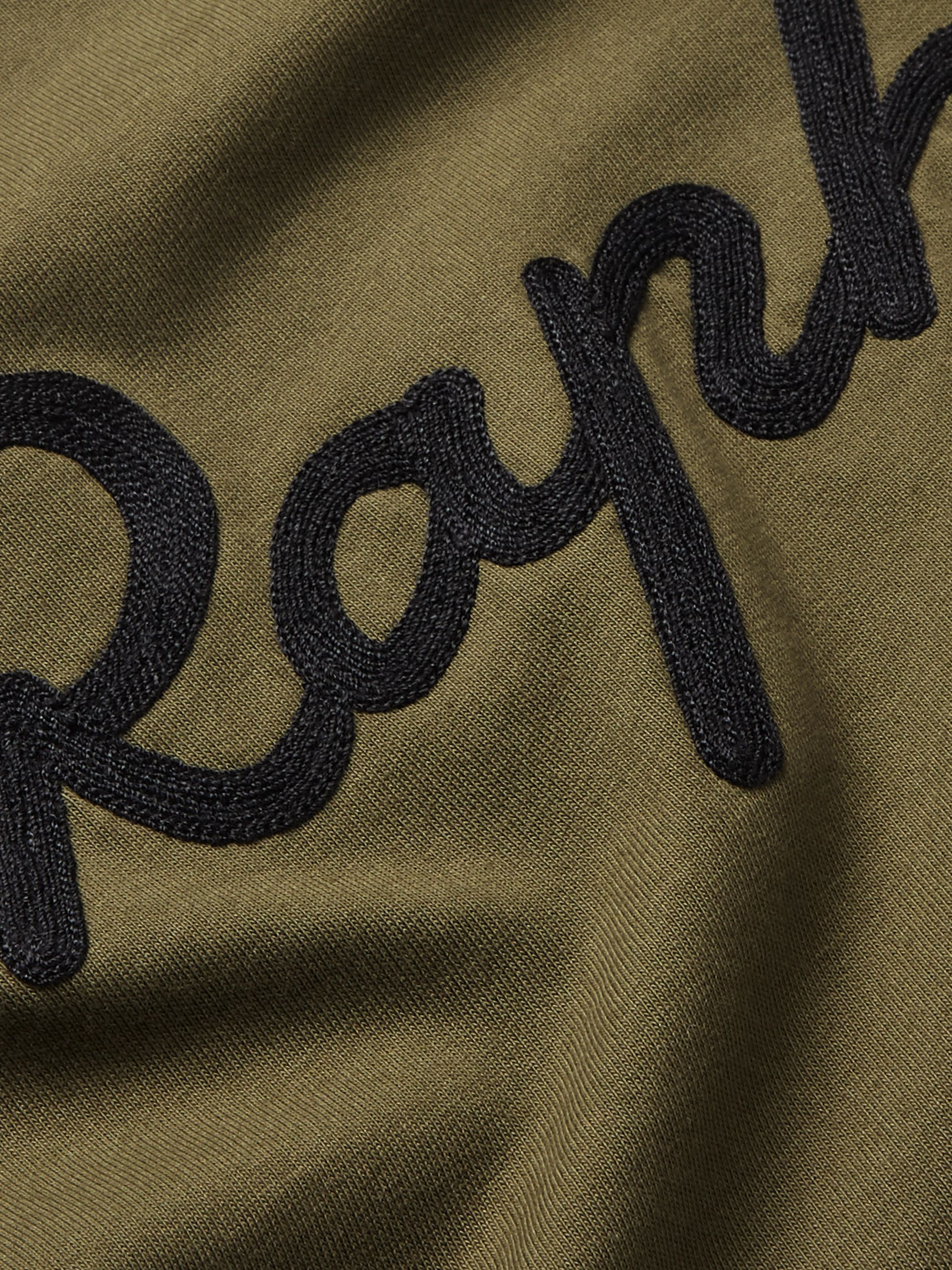 Rapha Logo-Embroidered Mélange Cotton-Jersey T-Shirt