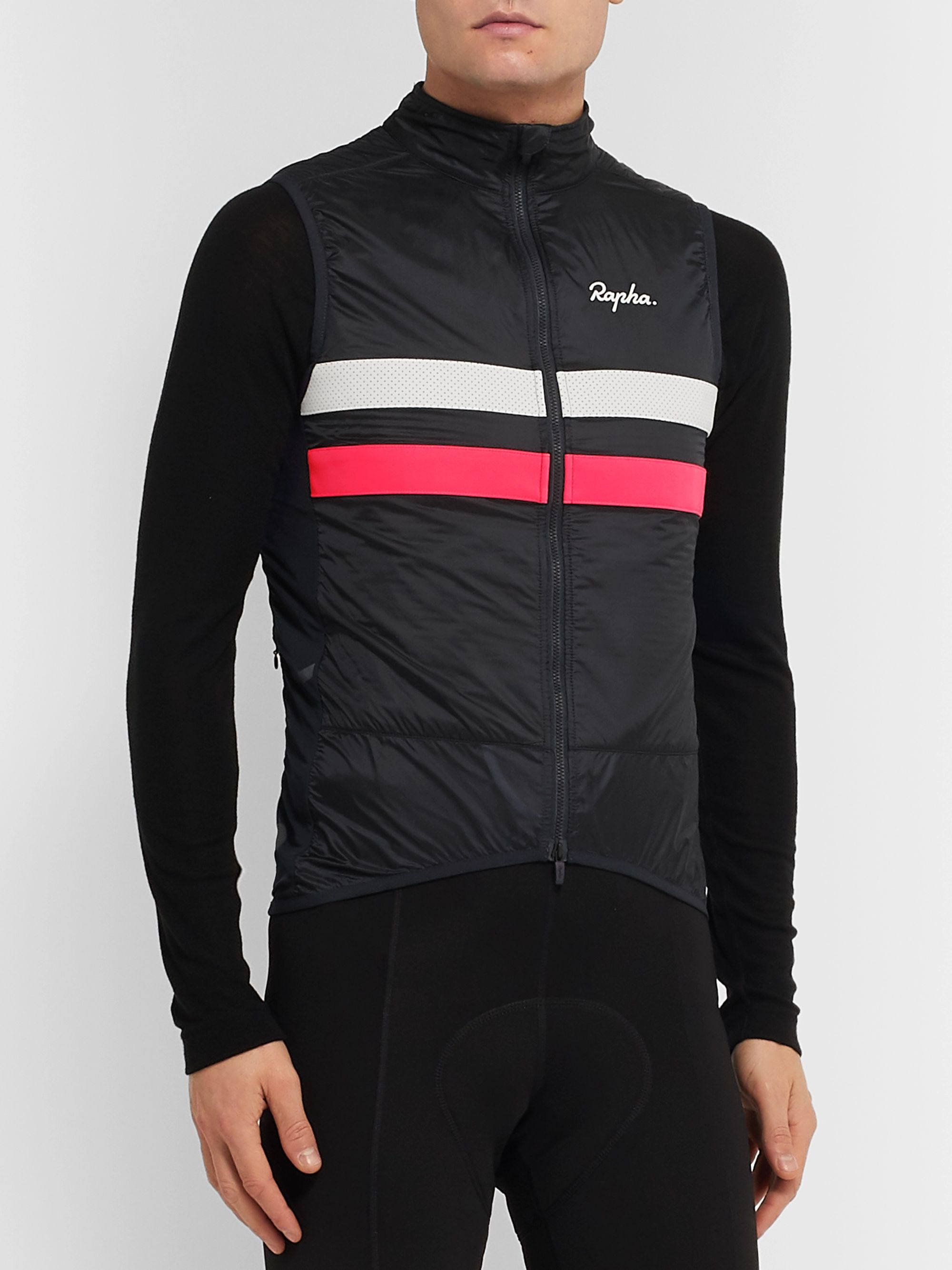 Rapha Brevet Panelled Shell Cycling Gilet