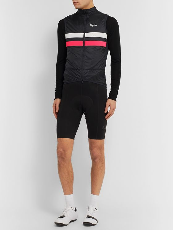 Rapha Brevet Striped Shell Gilet