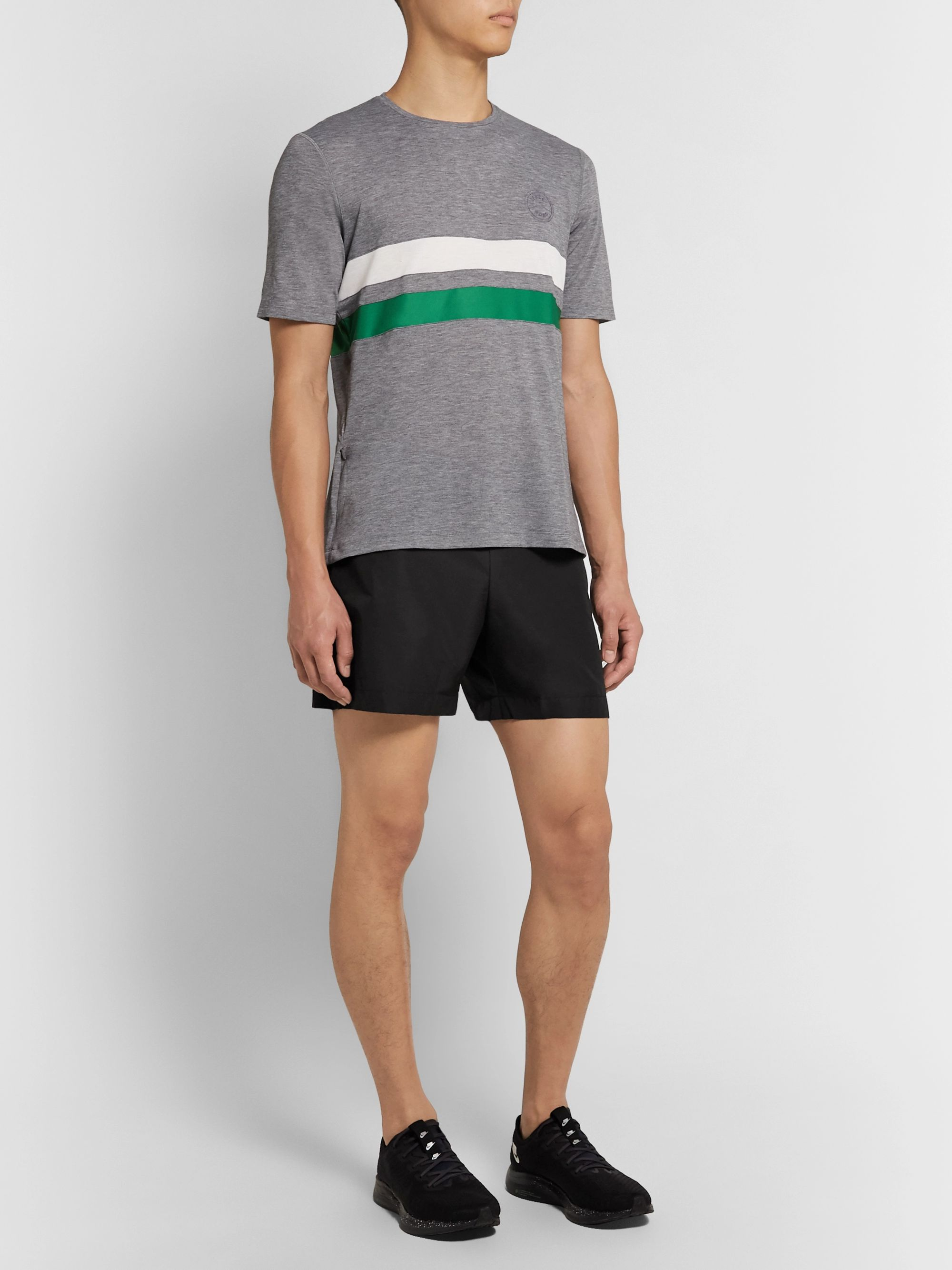 Iffley Road Pembroke Slim-Fit Shell Running Shorts