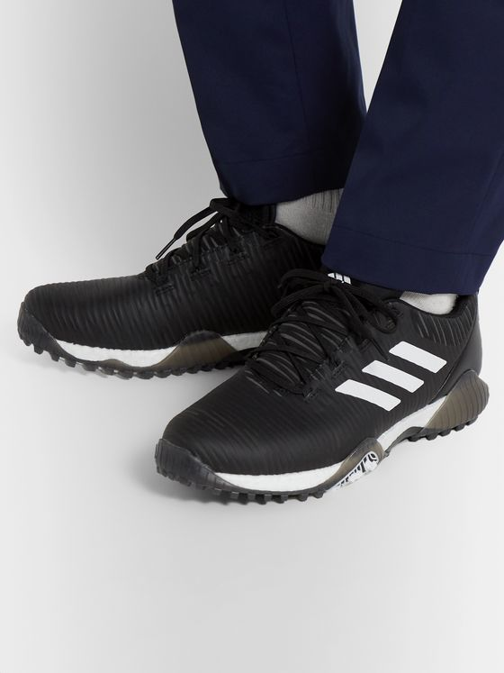Adidas Golf Codechaos Coated Mesh and Leather Golf Shoes