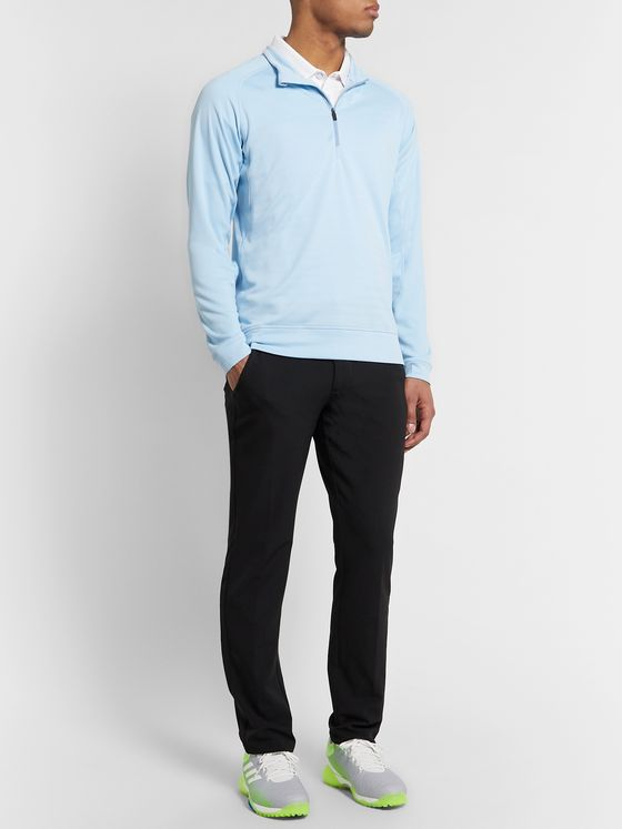 Kjus Golf Keano Slim-Fit Stretch-Jersey Half-Zip Golf Top
