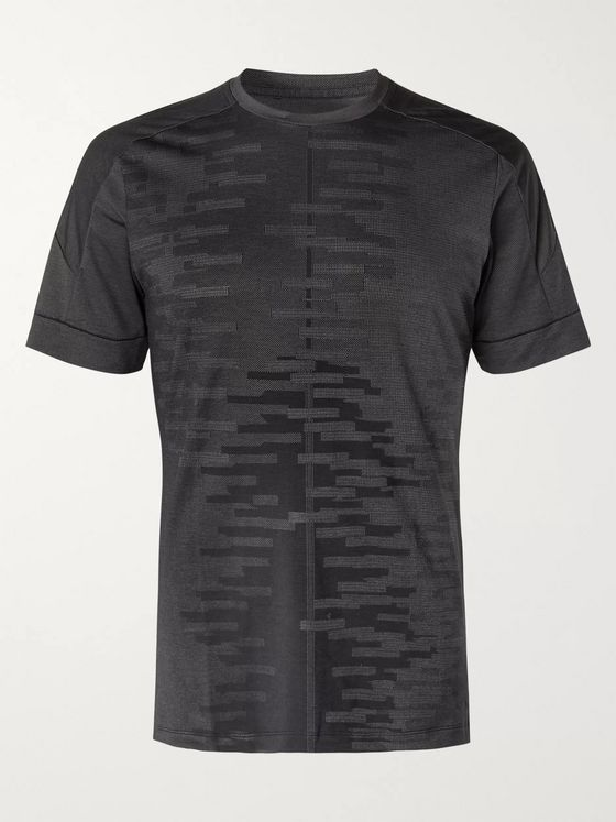 Nike Training Jacquard Dri-FIT Yoga T-Shirt