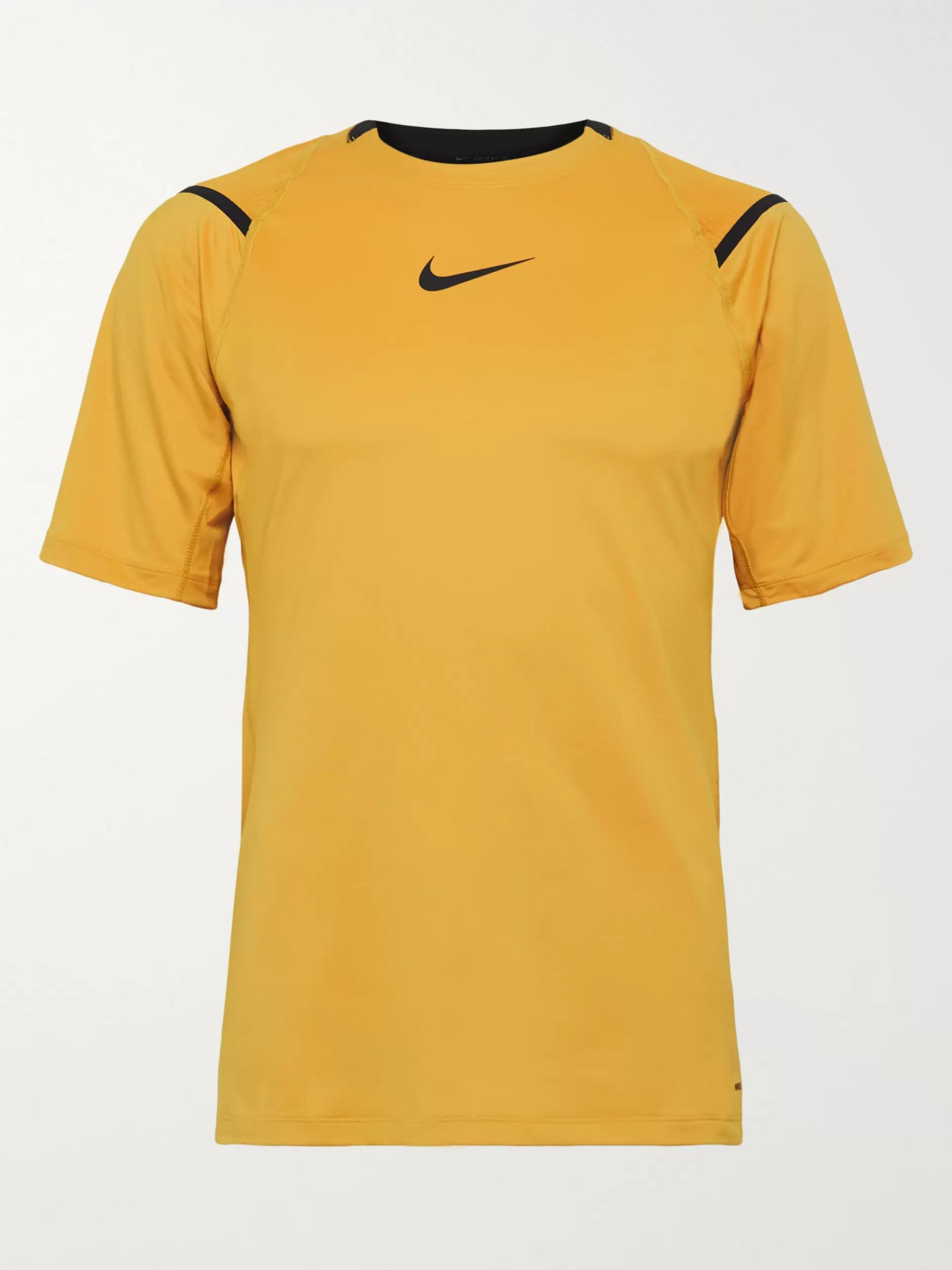 nike shirt yellow