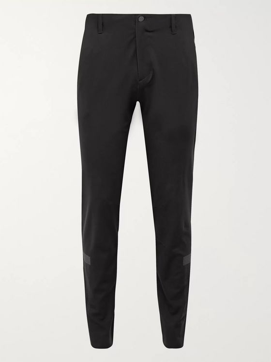 Adidas Golf Slim-Fit Tapered Warp Knit Golf Trousers