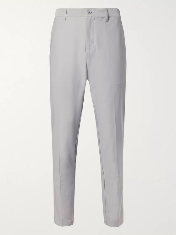 Adidas Golf AdiPure Tapered Stretch-Jersey Golf Trousers