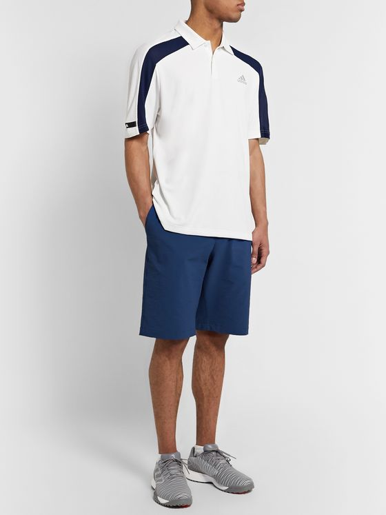 Adidas Golf adiPure Slim-Fit Stretch-Seersucker Golf Shorts