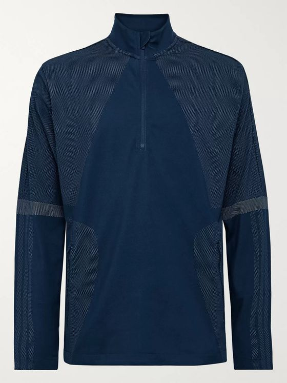 Adidas Golf Sport Warp Knit Half-Zip Golf Top