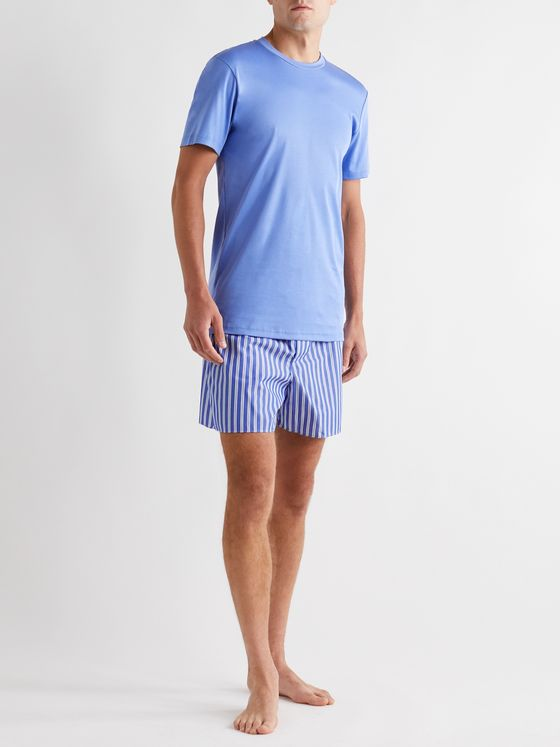 Zimmerli Striped Cotton Boxer Shorts