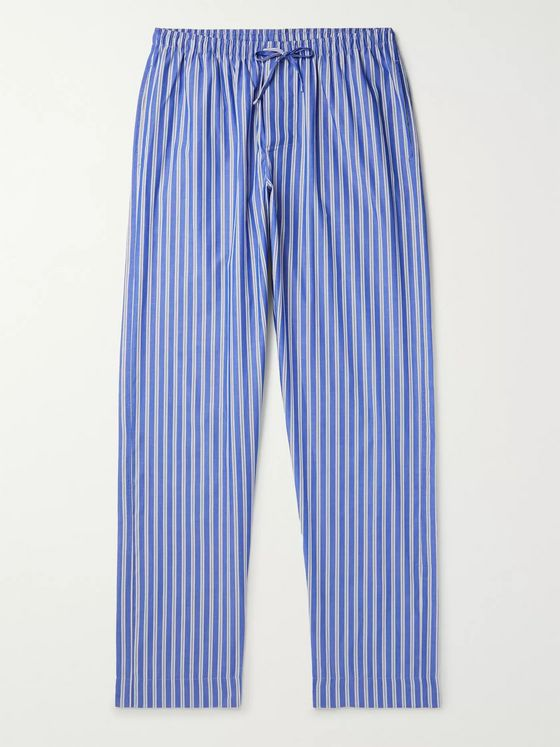 Zimmerli Striped Cotton Pyjama Trousers