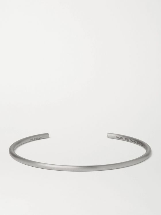 Le Gramme Le 7 Brushed Sterling Silver Cuff
