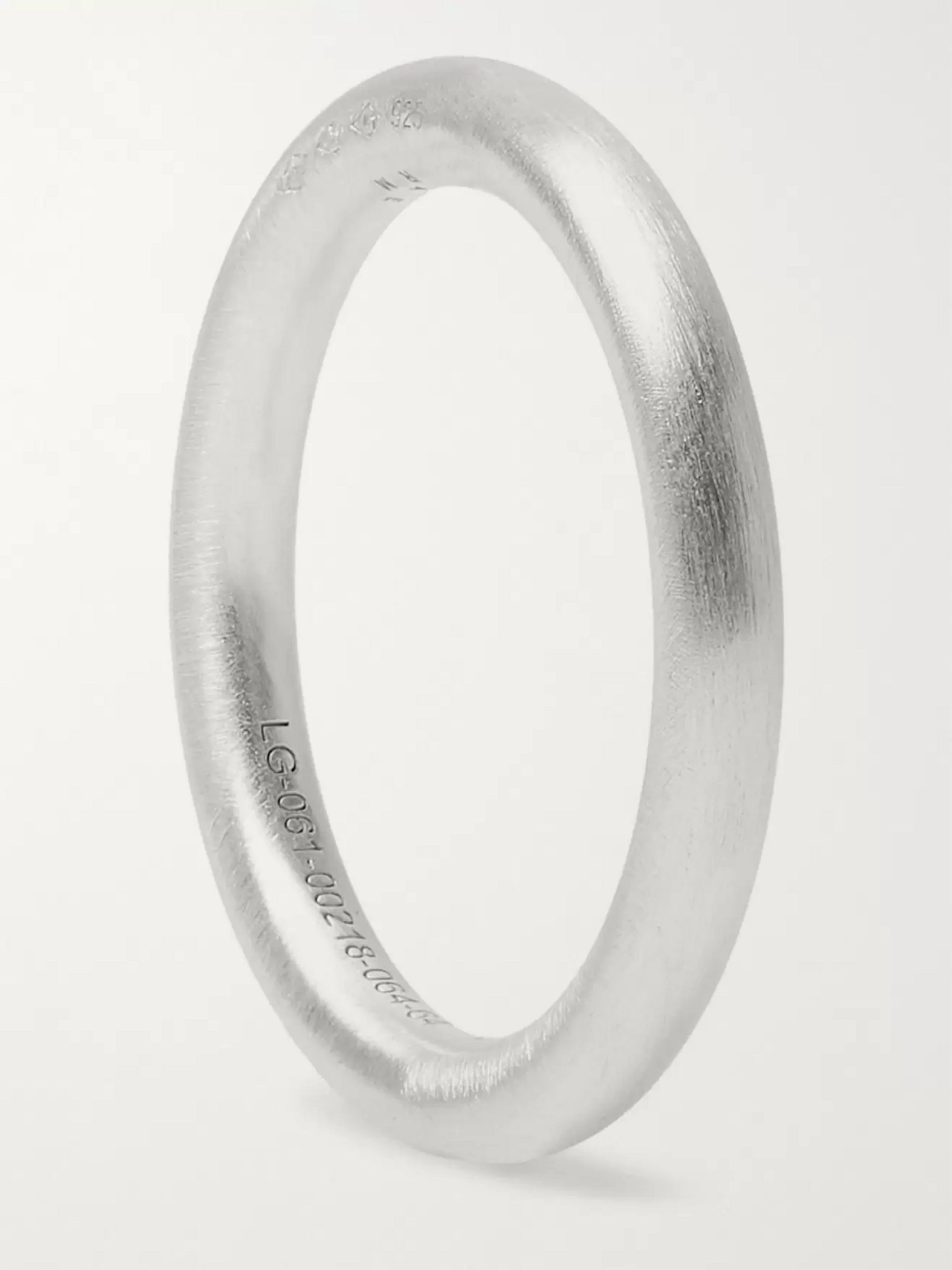 LE GRAMME Le 5 Brushed Sterling Silver Ring