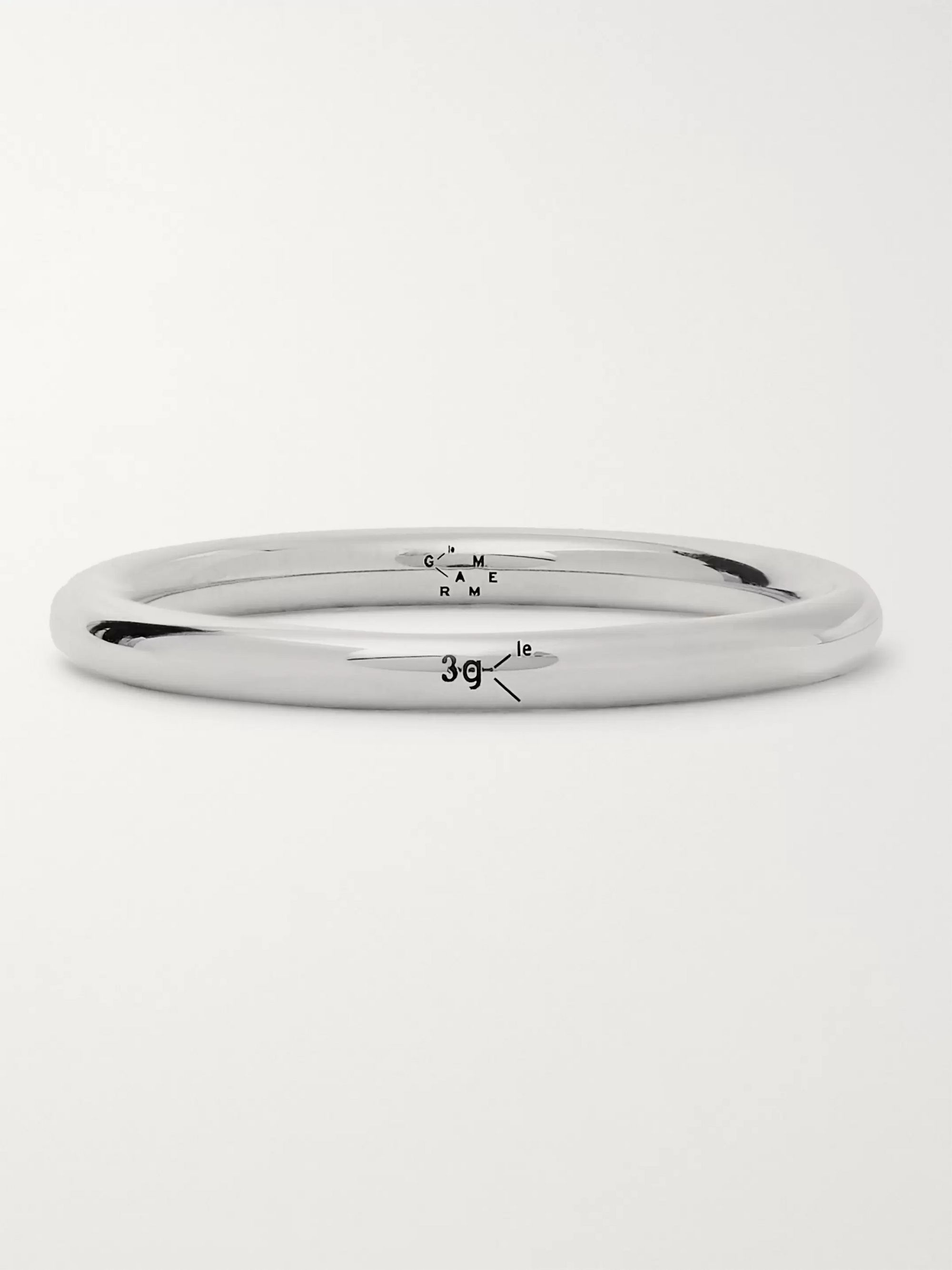 Le Gramme Le 3 Polished Sterling Silver Ring