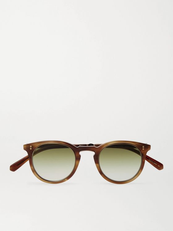 MR LEIGHT Crosby S Round-Frame Acetate Sunglasses