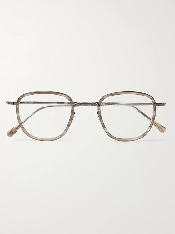Mr Leight Griffith C Titanium Optical Glasses