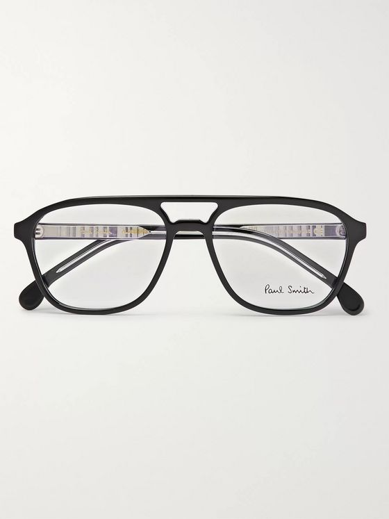 Paul Smith + Cutler and Gross D-Frame Acetate Optical Glasses