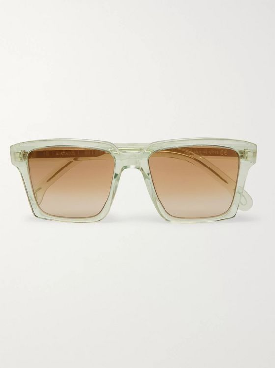 Paul Smith Square-Frame Acetate Sunglasses