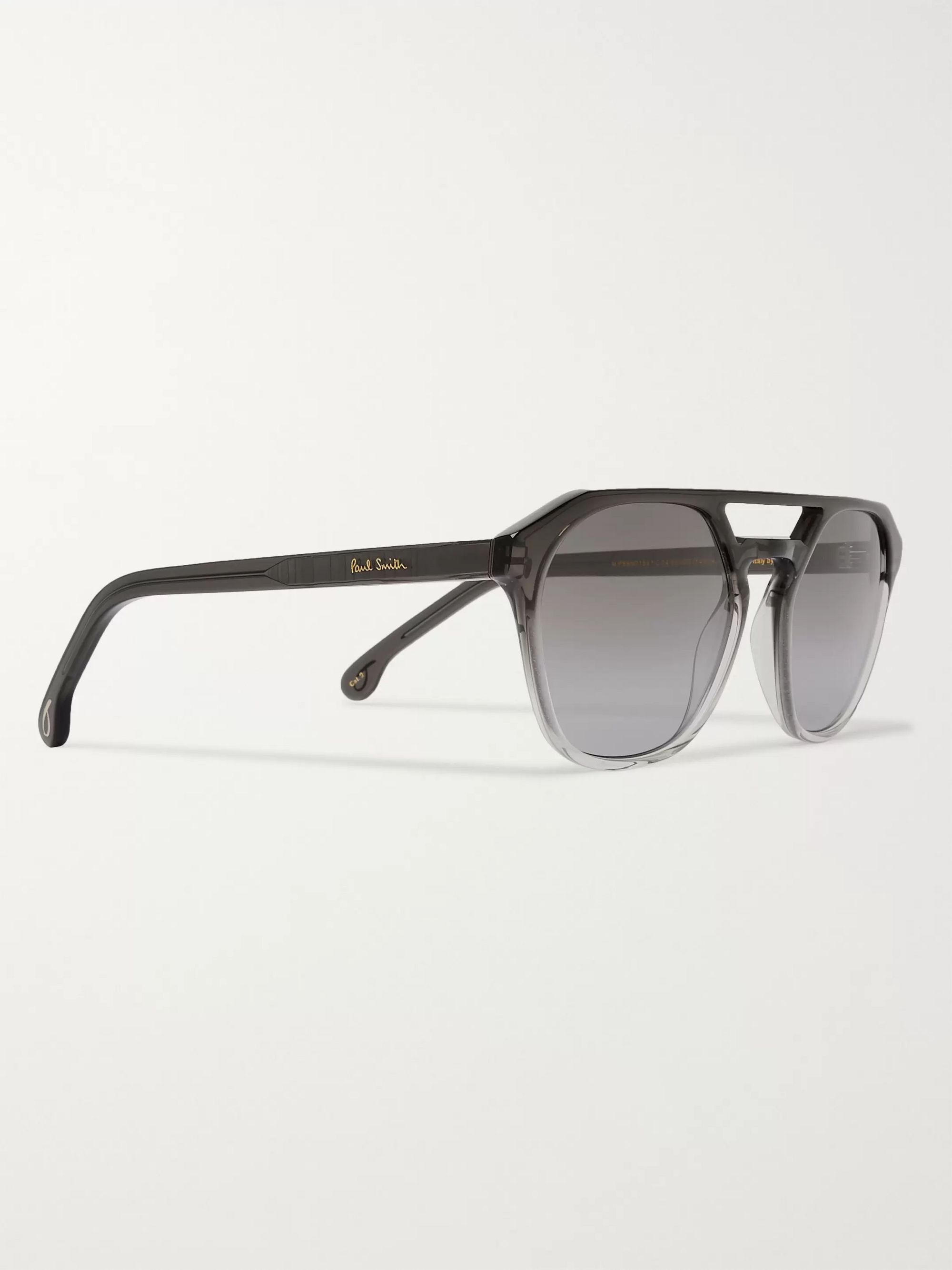 Black + Cutler And Gross Barford Aviator-style Acetate Sunglasses | Paul Smith