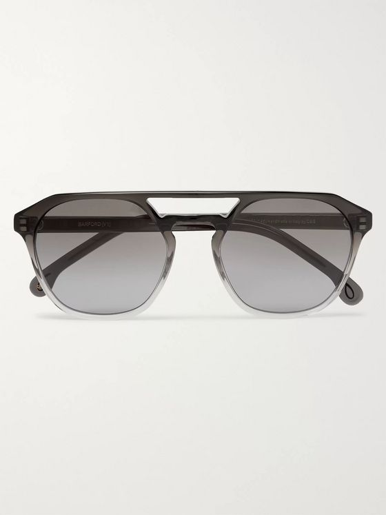 Paul Smith + Cutler and Gross Barford Aviator-Style Acetate Sunglasses