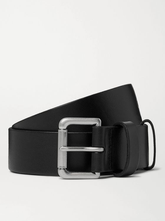 POLO RALPH LAUREN 4cm Leather Belt