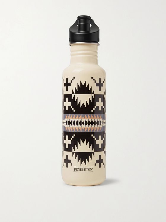 Pendleton Printed Stainless Steel Water Bottle, 800ml
