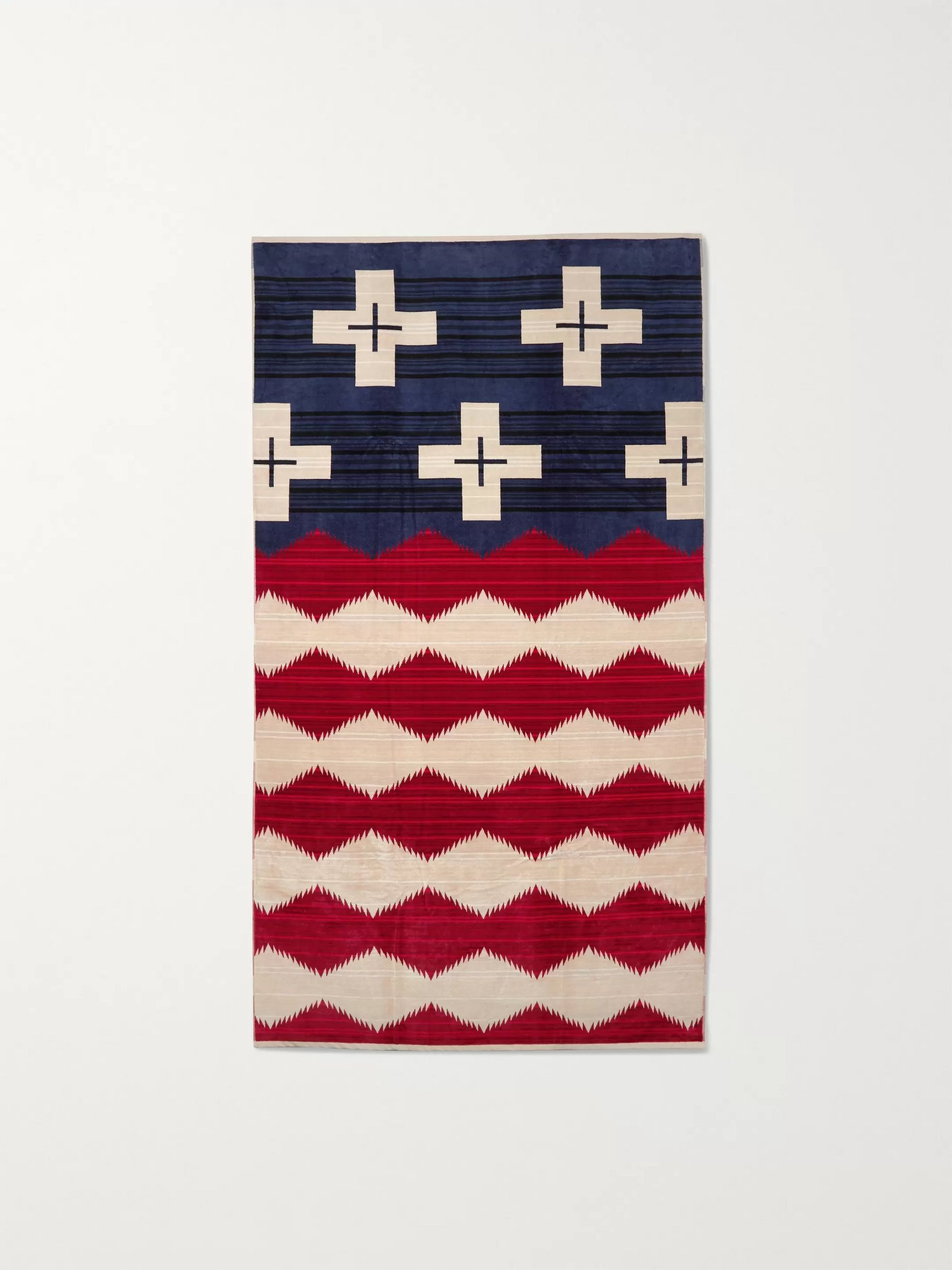 Pendleton Cotton-Terry Jacquard Towel